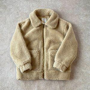 garage sherpa jacket